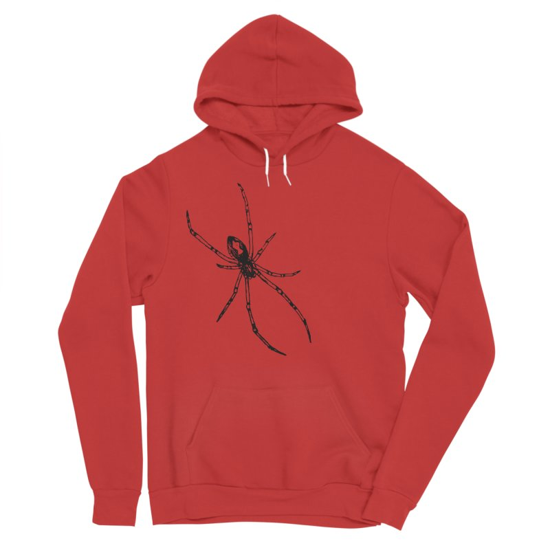 Brown Widow Men's Sponge Fleece Pullover Hoody by sand paper octopi's Artist Shop