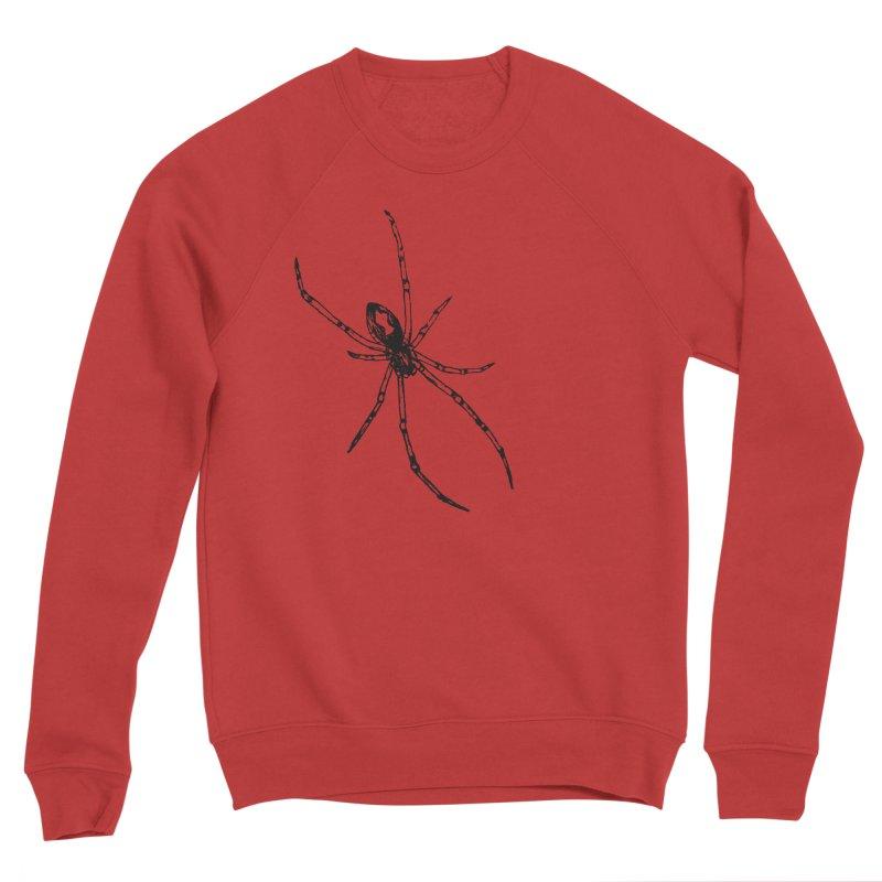Brown Widow Men's Sponge Fleece Sweatshirt by sand paper octopi's Artist Shop