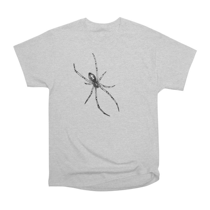 Brown Widow Men's Heavyweight T-Shirt by sand paper octopi's Artist Shop