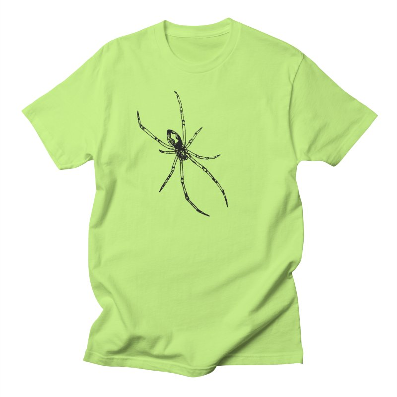 Brown Widow Women's Regular Unisex T-Shirt by sand paper octopi's Artist Shop