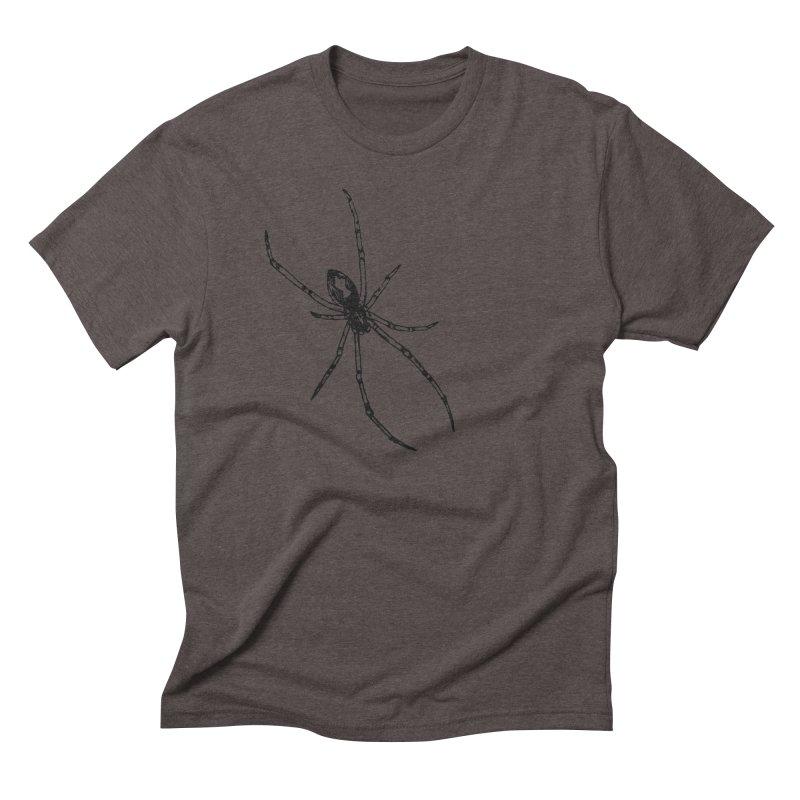 Brown Widow Men's Triblend T-Shirt by sand paper octopi's Artist Shop