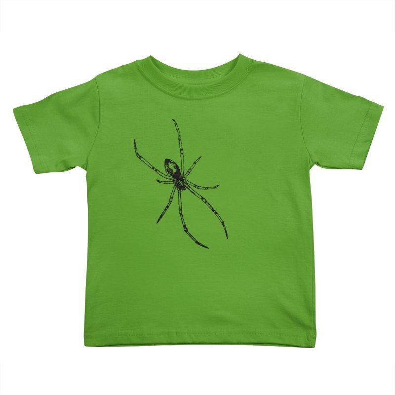 Brown Widow Kids Toddler T-Shirt by sand paper octopi's Artist Shop