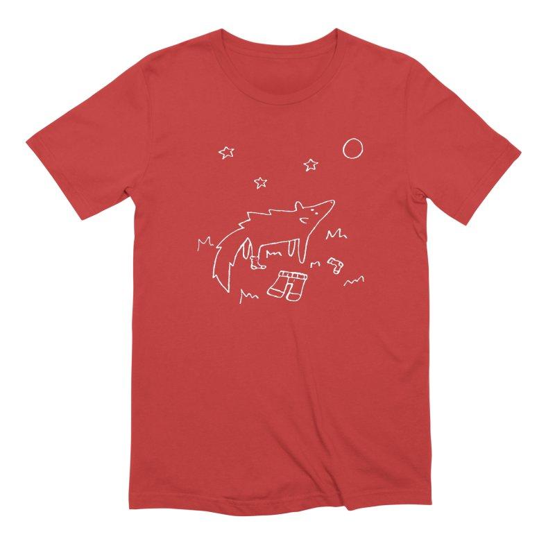 Werewolf Men's Extra Soft T-Shirt by sand paper octopi's Artist Shop