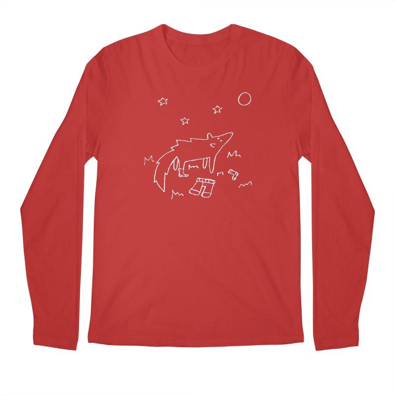 Werewolf Men's Regular Longsleeve T-Shirt by sand paper octopi's Artist Shop