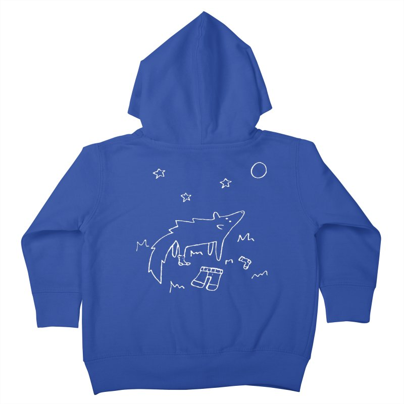 Werewolf Kids Toddler Zip-Up Hoody by sand paper octopi's Artist Shop