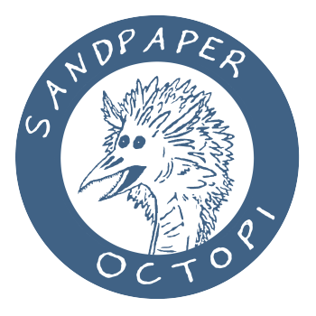 sand paper octopi's Artist Shop Logo
