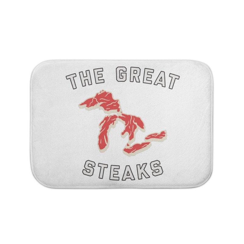 The Great Steaks Home Bath Mat by Shop Sandusky Ink & Cloth