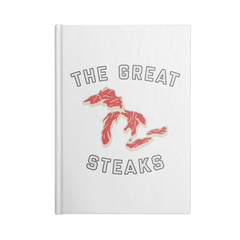 The Great Steaks Accessories Lined Journal Notebook by Shop Sandusky Ink & Cloth