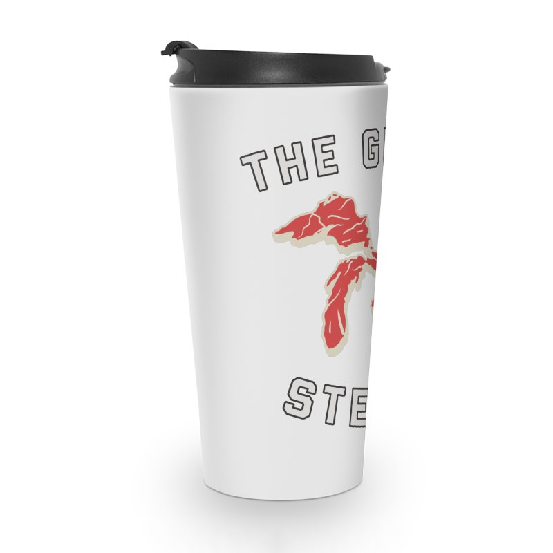 The Great Steaks Accessories Travel Mug by Shop Sandusky Ink & Cloth