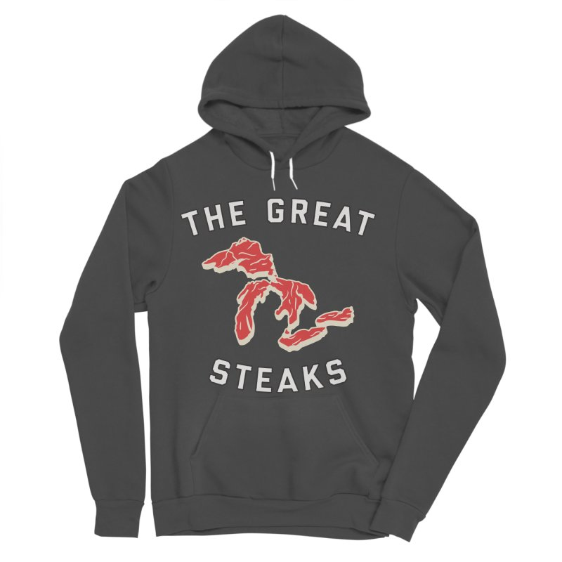 The Great Steaks Women's Sponge Fleece Pullover Hoody by Shop Sandusky Ink & Cloth