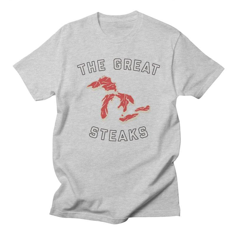 The Great Steaks Women's Regular Unisex T-Shirt by Shop Sandusky Ink & Cloth