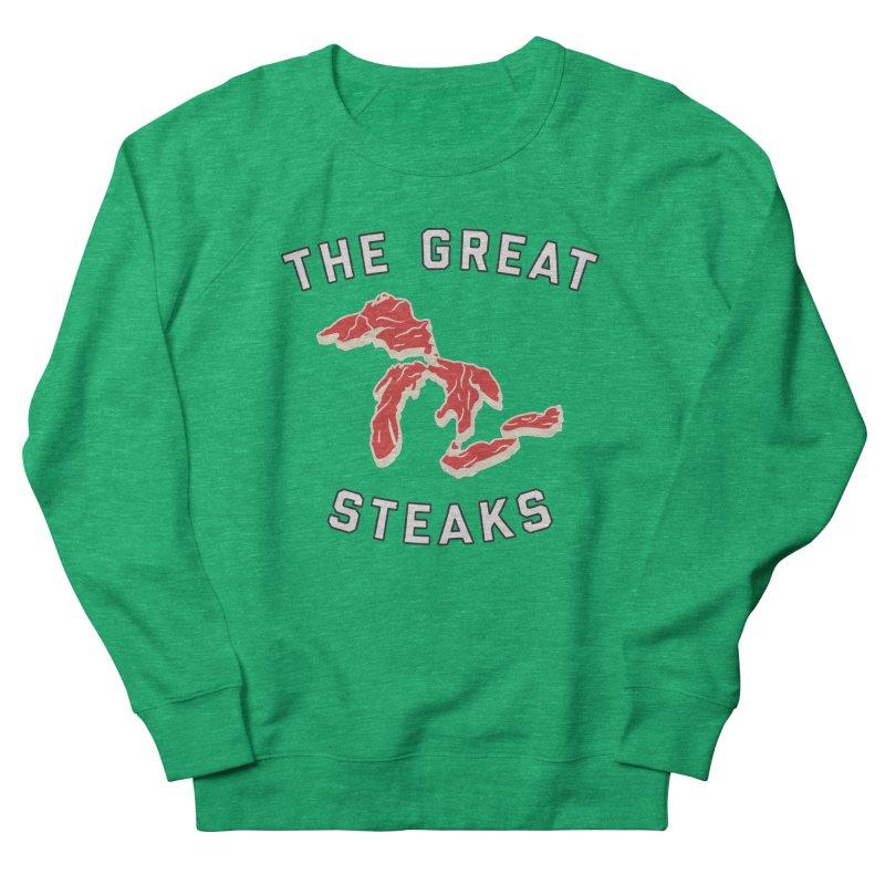 The Great Steaks Women's French Terry Sweatshirt by Shop Sandusky Ink & Cloth