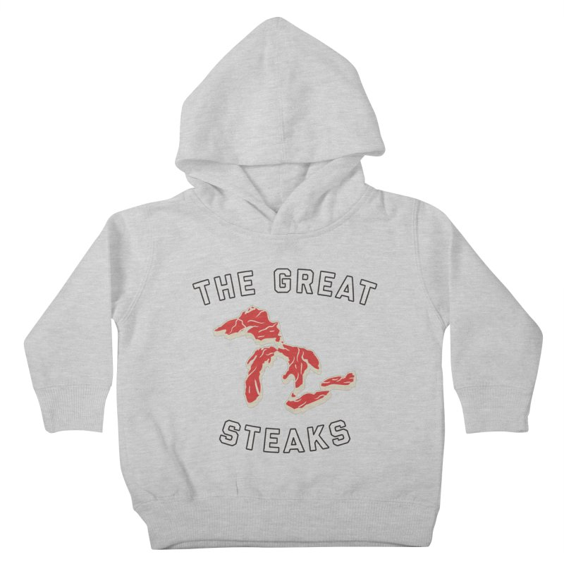The Great Steaks Kids Toddler Pullover Hoody by Shop Sandusky Ink & Cloth