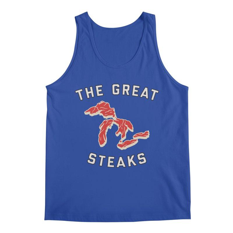 The Great Steaks Men's Regular Tank by Shop Sandusky Ink & Cloth