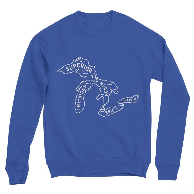 The Great Lakes Women's Sponge Fleece Sweatshirt by Shop Sandusky Ink & Cloth