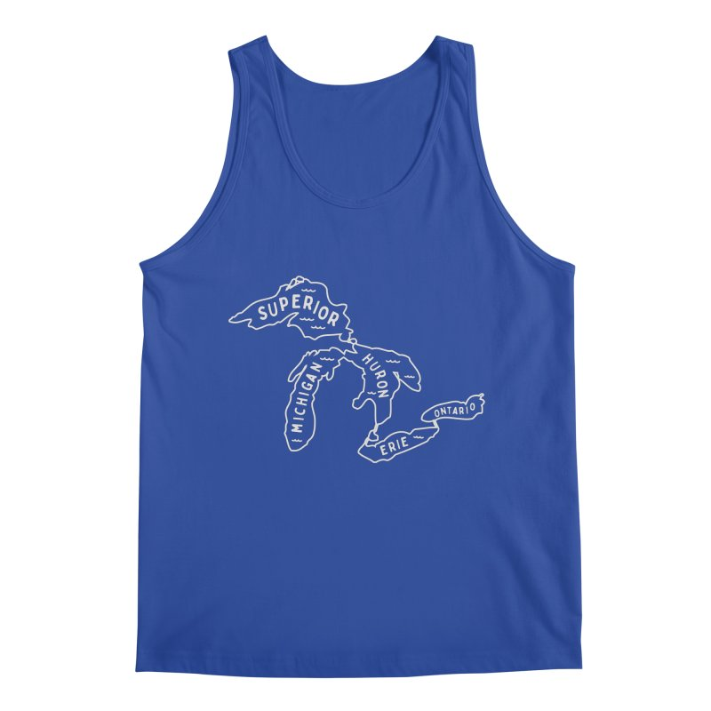 The Great Lakes Men's Regular Tank by Shop Sandusky Ink & Cloth