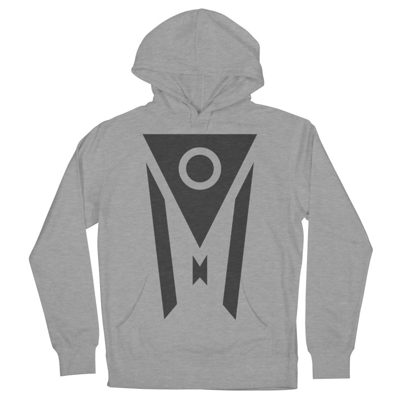 Ohio Dark Mode Women's French Terry Pullover Hoody by Shop Sandusky Ink & Cloth