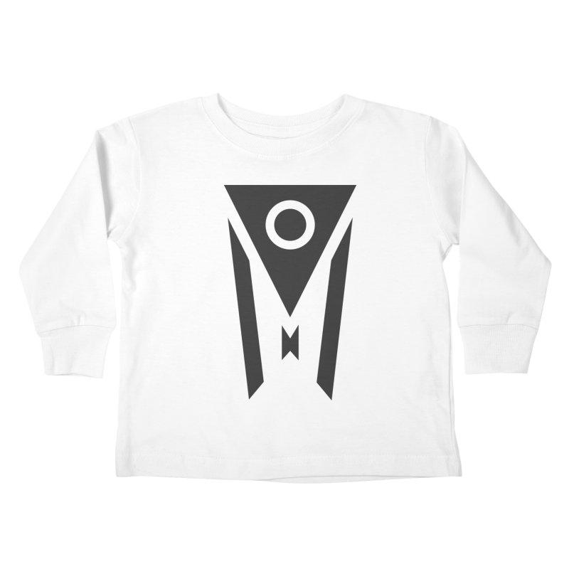 Ohio Dark Mode Kids Toddler Longsleeve T-Shirt by Shop Sandusky Ink & Cloth
