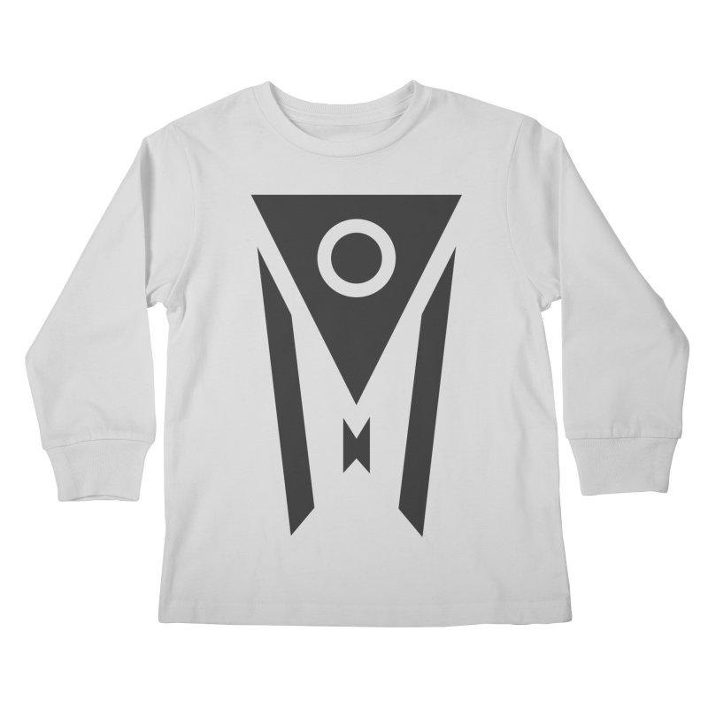 Ohio Dark Mode Kids Longsleeve T-Shirt by Shop Sandusky Ink & Cloth