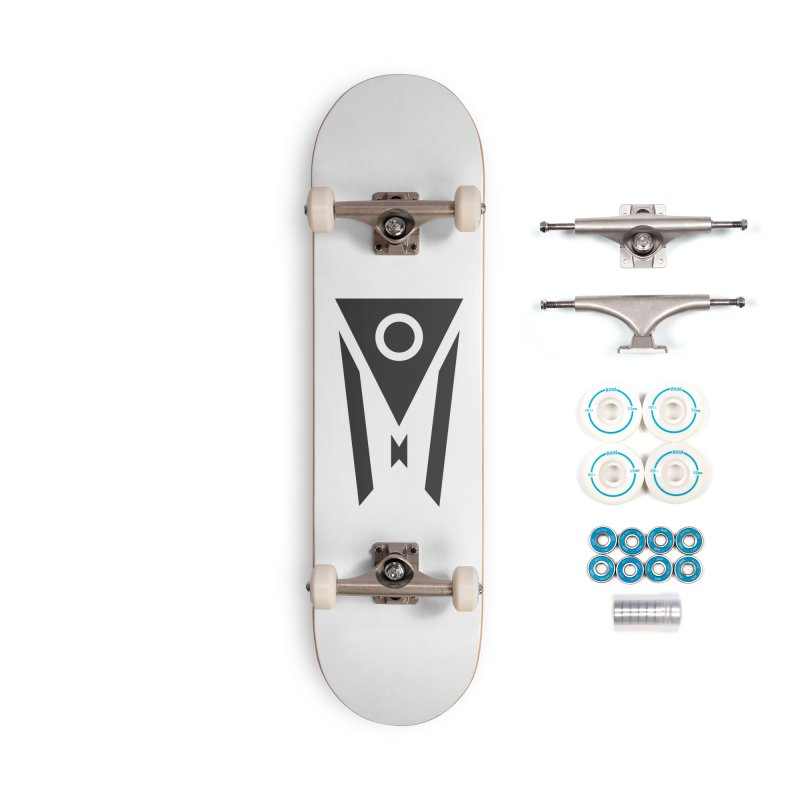 Ohio Dark Mode Accessories Complete - Basic Skateboard by Shop Sandusky Ink & Cloth