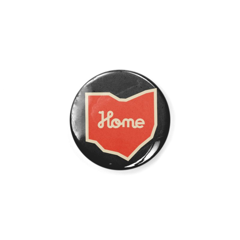 Home Ohio Accessories Button by Shop Sandusky Ink & Cloth