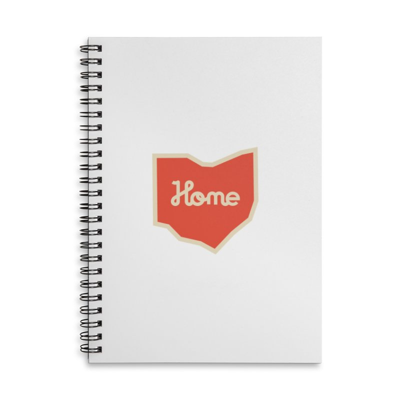 Home Ohio Accessories Lined Spiral Notebook by Shop Sandusky Ink & Cloth