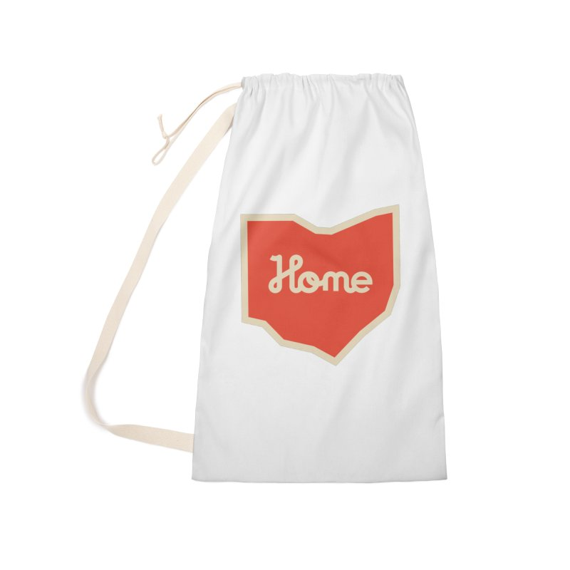 Home Ohio Accessories Laundry Bag Bag by Shop Sandusky Ink & Cloth
