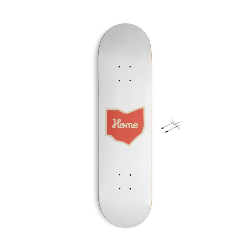 Home Ohio Accessories With Hanging Hardware Skateboard by Shop Sandusky Ink & Cloth