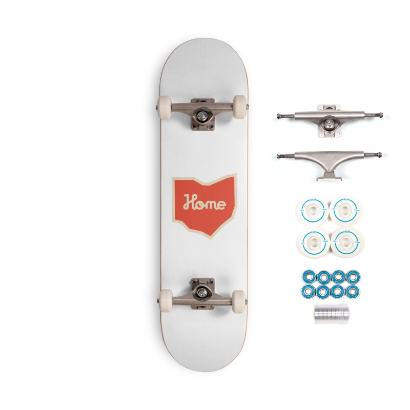 Home Ohio Accessories Complete - Basic Skateboard by Shop Sandusky Ink & Cloth