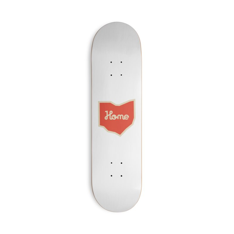 Home Ohio Accessories Deck Only Skateboard by Shop Sandusky Ink & Cloth