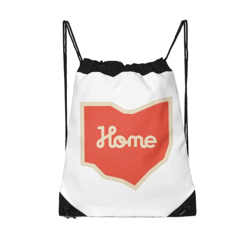 Home Ohio Accessories Drawstring Bag Bag by Shop Sandusky Ink & Cloth