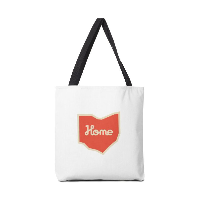 Home Ohio Accessories Tote Bag Bag by Shop Sandusky Ink & Cloth