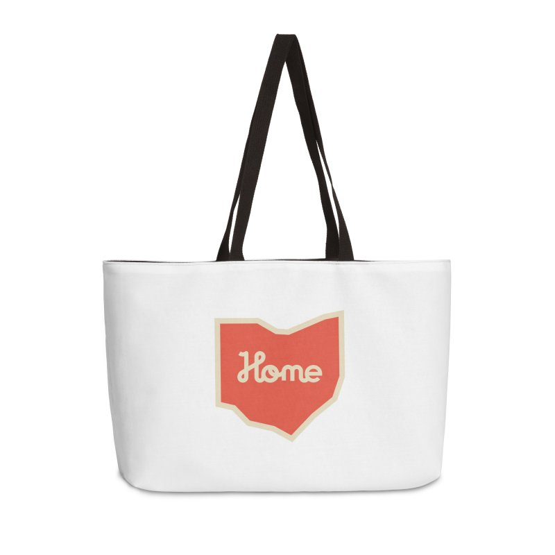 Home Ohio Accessories Weekender Bag Bag by Shop Sandusky Ink & Cloth
