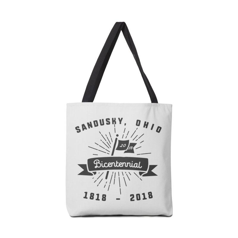 Sandusky Bicentennial Celebration Accessories Tote Bag Bag by Shop Sandusky Ink & Cloth