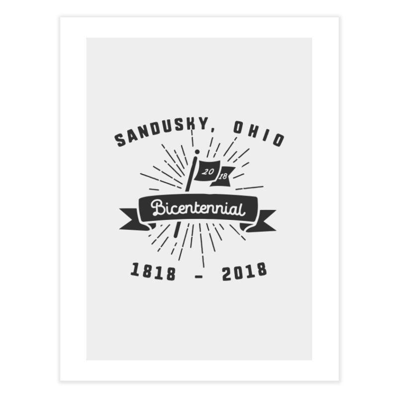 Sandusky Bicentennial Celebration Home Fine Art Print by Shop Sandusky Ink & Cloth