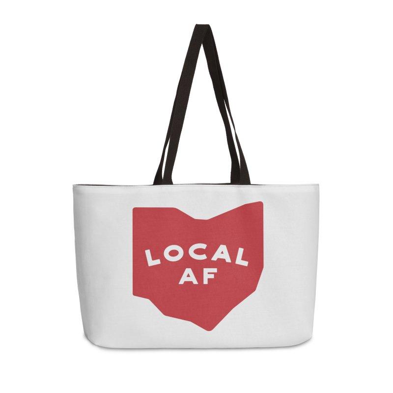 Local AF Accessories Weekender Bag Bag by Shop Sandusky Ink & Cloth