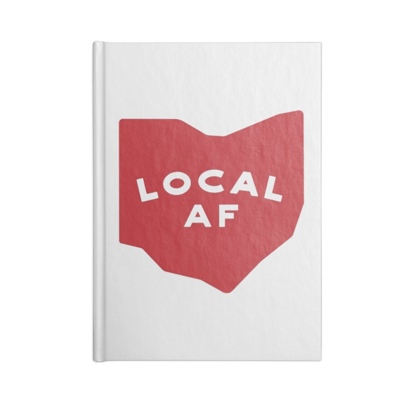 Local AF Accessories Lined Journal Notebook by Shop Sandusky Ink & Cloth