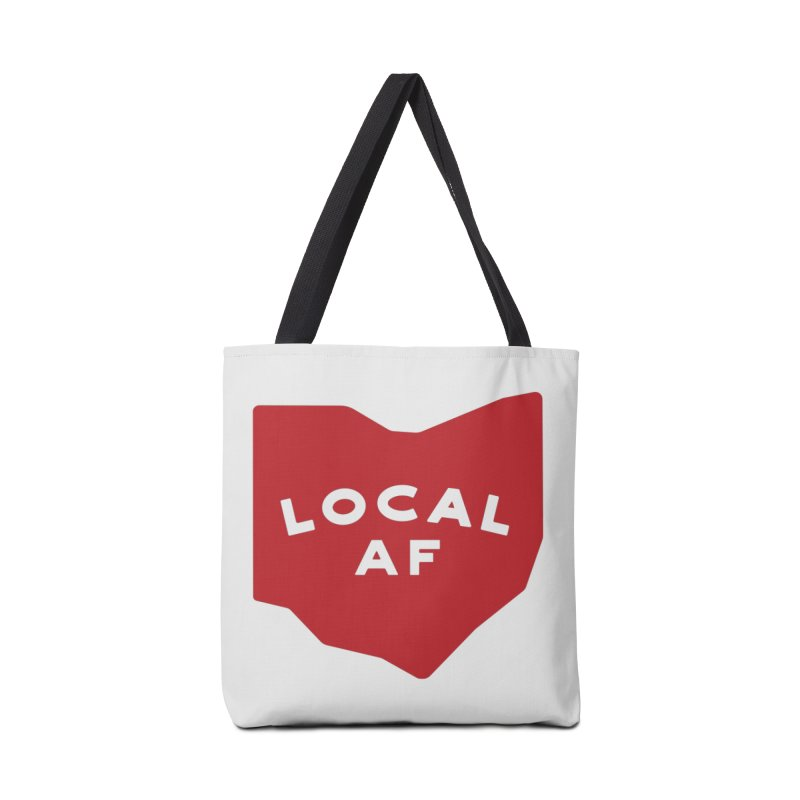 Local AF Accessories Tote Bag Bag by Shop Sandusky Ink & Cloth