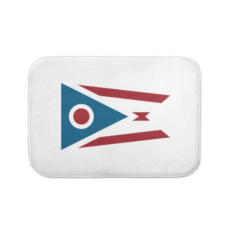Ohio Flag Home Bath Mat by Shop Sandusky Ink & Cloth