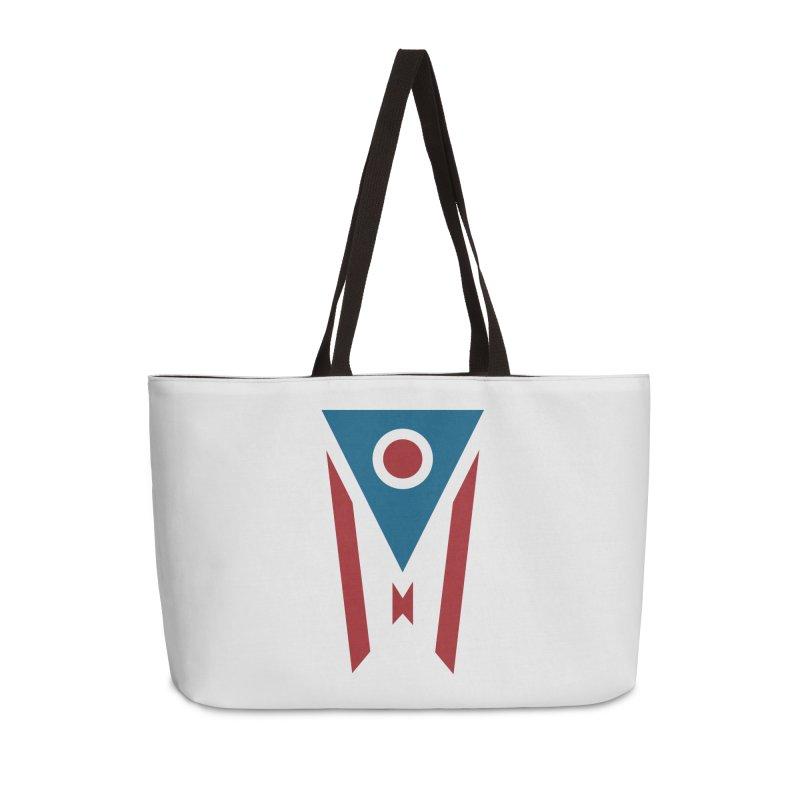 Ohio Flag Accessories Weekender Bag Bag by Shop Sandusky Ink & Cloth