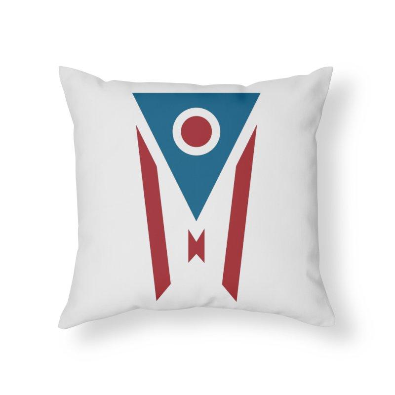 Ohio Flag Home Throw Pillow by Shop Sandusky Ink & Cloth