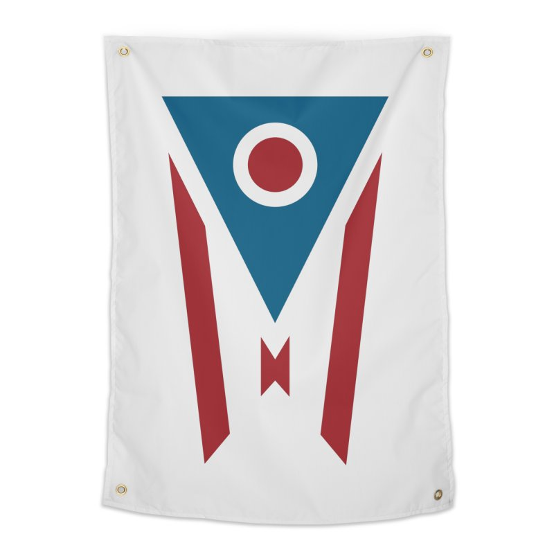 Ohio Flag Home Tapestry by Shop Sandusky Ink & Cloth