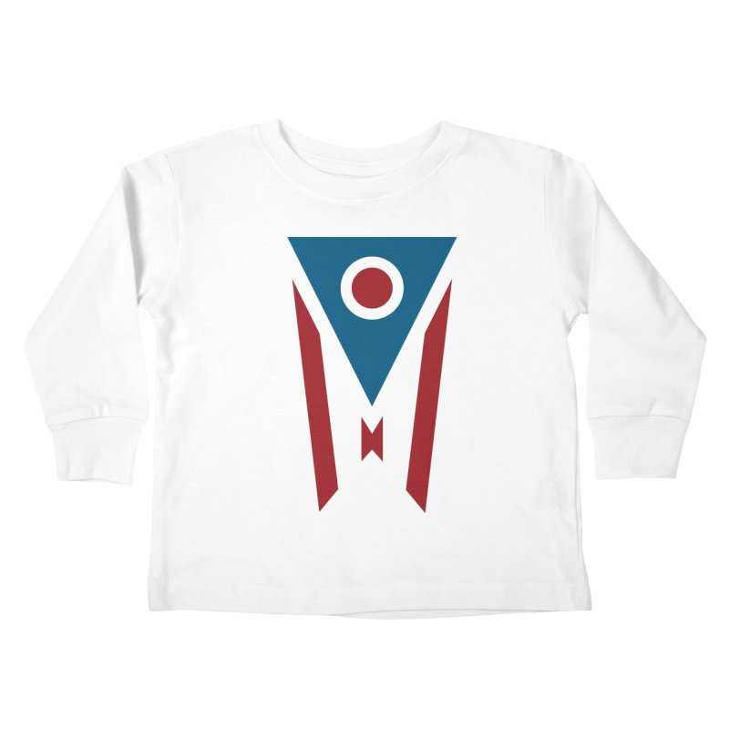 Ohio Flag Kids Toddler Longsleeve T-Shirt by Shop Sandusky Ink & Cloth