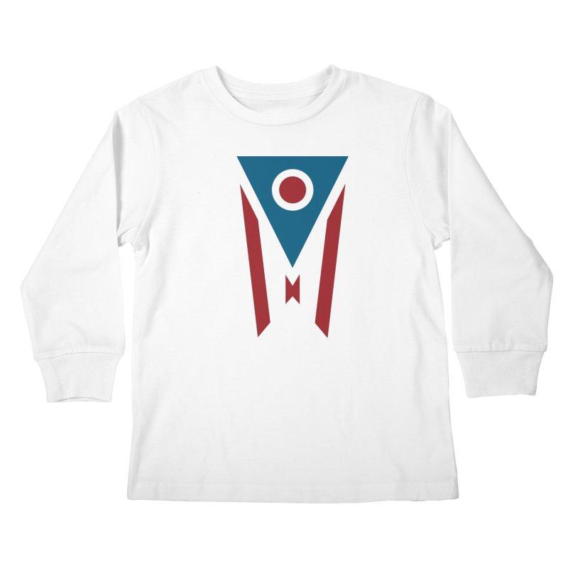 Ohio Flag Kids Longsleeve T-Shirt by Shop Sandusky Ink & Cloth