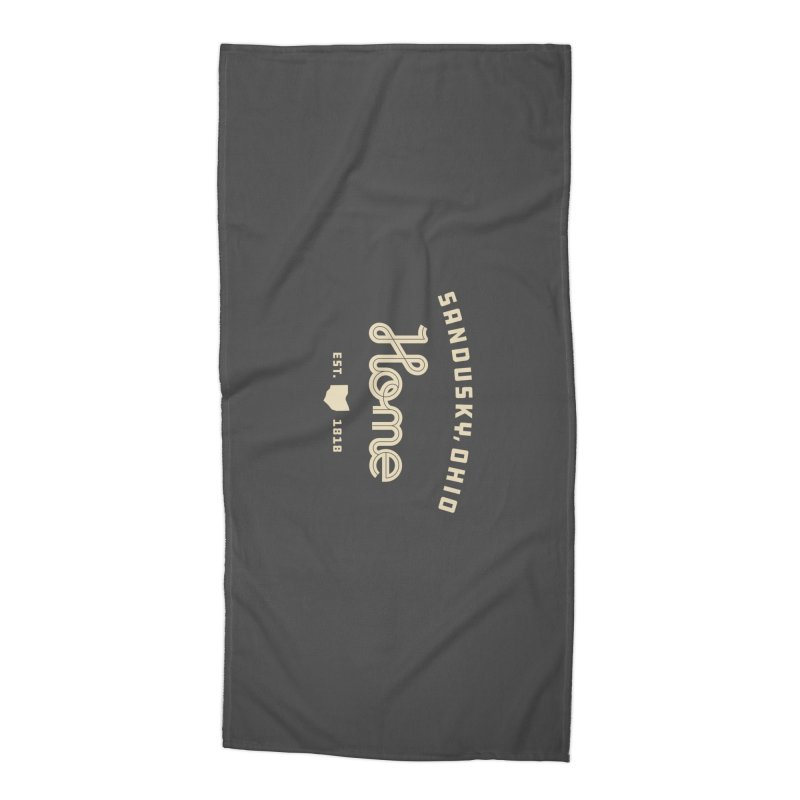 Home Accessories Beach Towel by Shop Sandusky Ink & Cloth