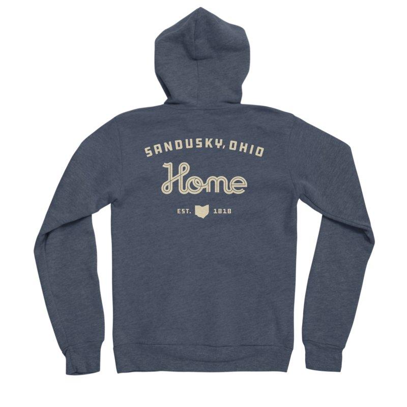 Home Men's Sponge Fleece Zip-Up Hoody by Shop Sandusky Ink & Cloth