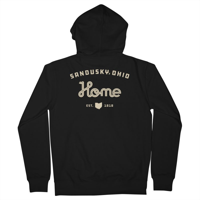Home Men's French Terry Zip-Up Hoody by Shop Sandusky Ink & Cloth
