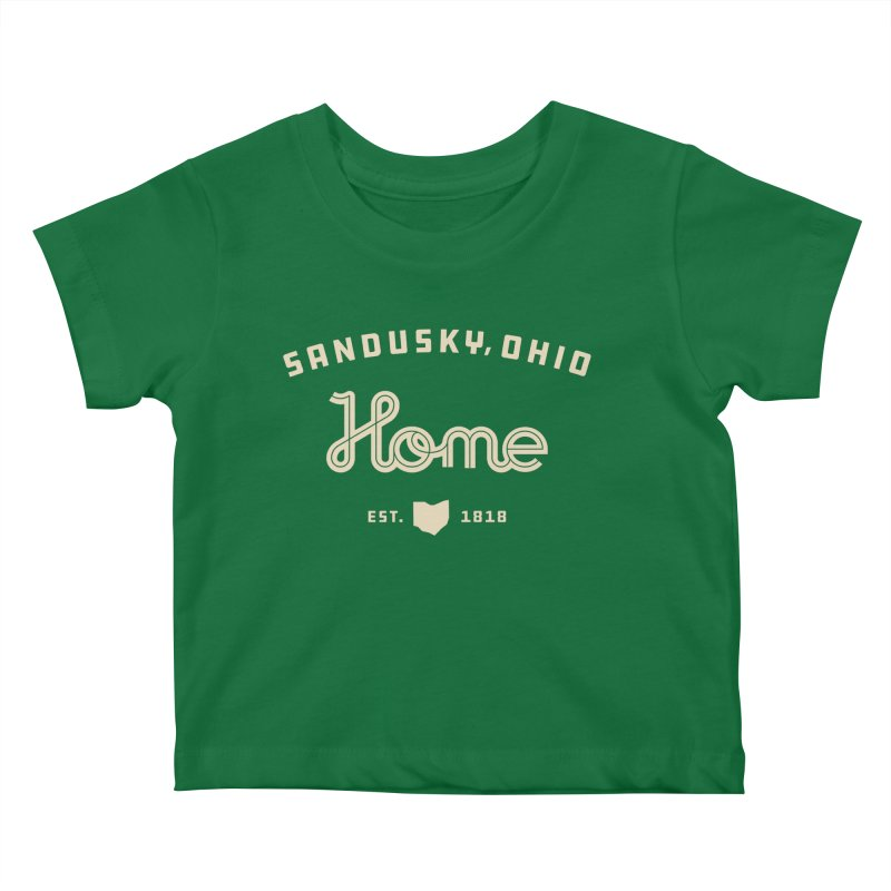 Home Kids Baby T-Shirt by Shop Sandusky Ink & Cloth