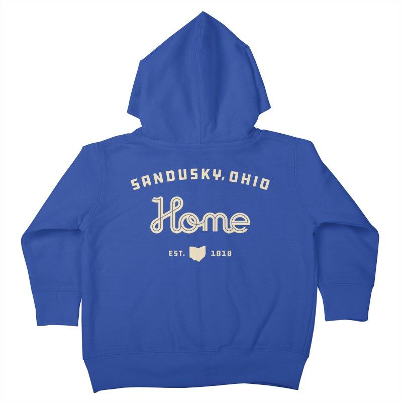 Home Kids Toddler Zip-Up Hoody by Shop Sandusky Ink & Cloth