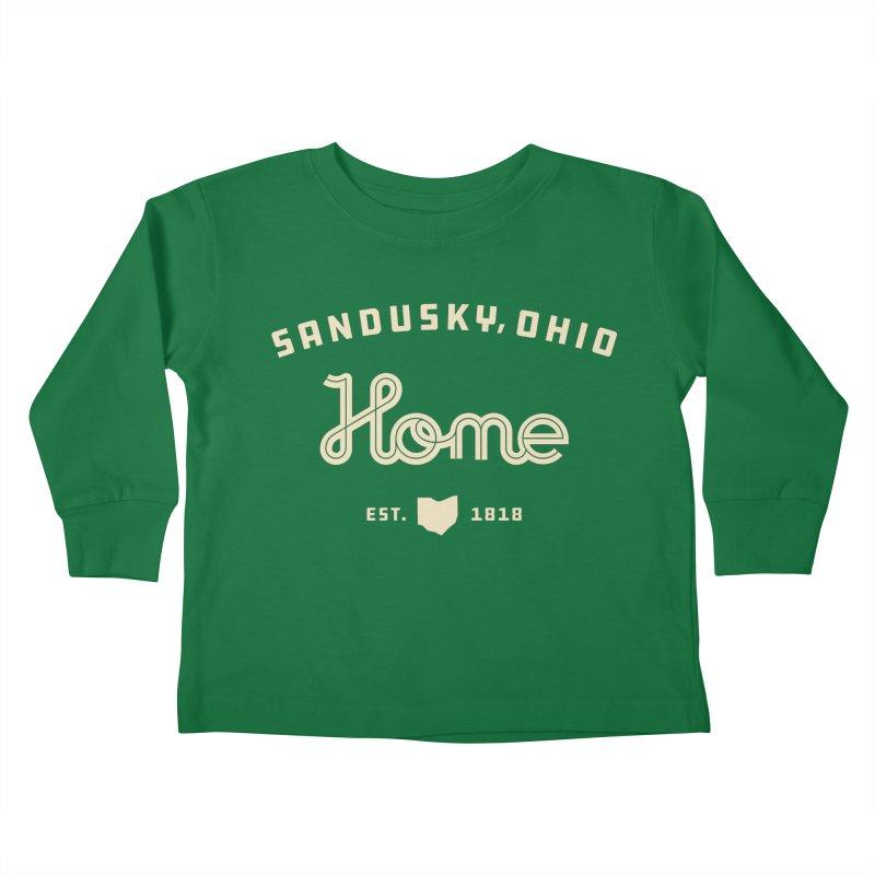 Home Kids Toddler Longsleeve T-Shirt by Shop Sandusky Ink & Cloth